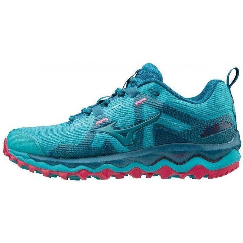 chaussure de trail running mizuno wawe mujin 6 pour femmes j1gk197026