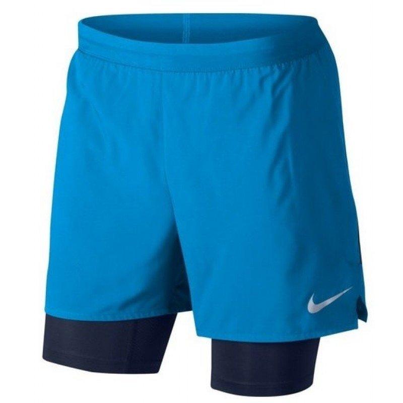 short de running pour hommes nike flex stride 2in1 short 904456