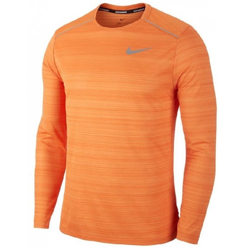 tee running pour hommes nike tee sl dry miller aj7568-806