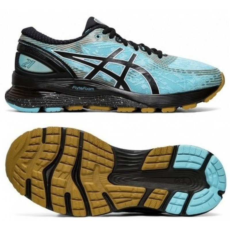 asics gel nimbus 21 1012A541-400 ICE MINT / BLACK