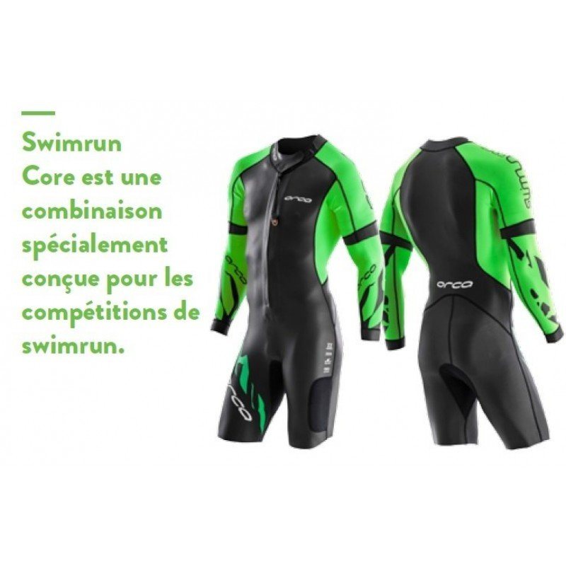 combinaison de swimrun en neoprene pour homme orca core swimrun 2 pieces