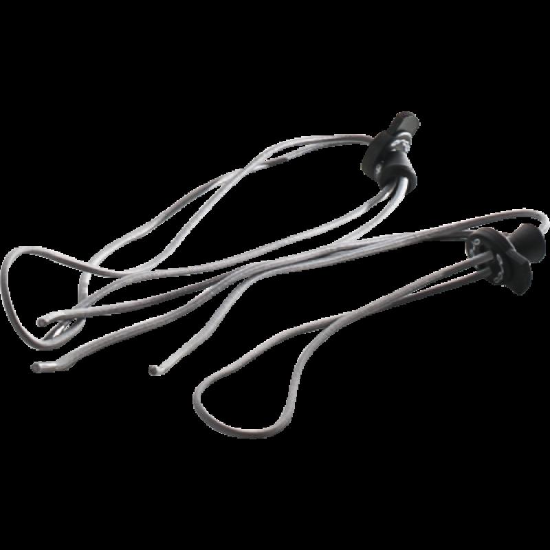 Lacets elastiques triathlon Orca gris
