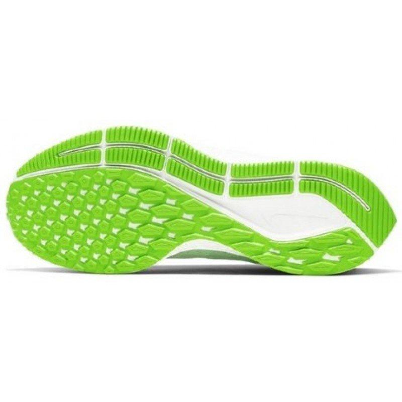 chaussure de running pour femmes nike air zoom pegasus 36 aq2210-002 phantom / bio-beige - barely volt