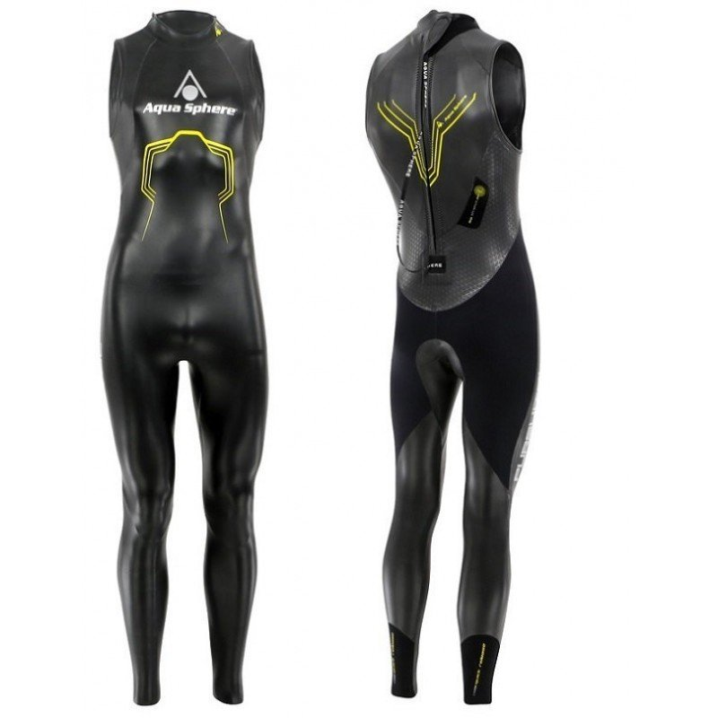Combinaison de triathlon Aquasphere Pursuit sans manches