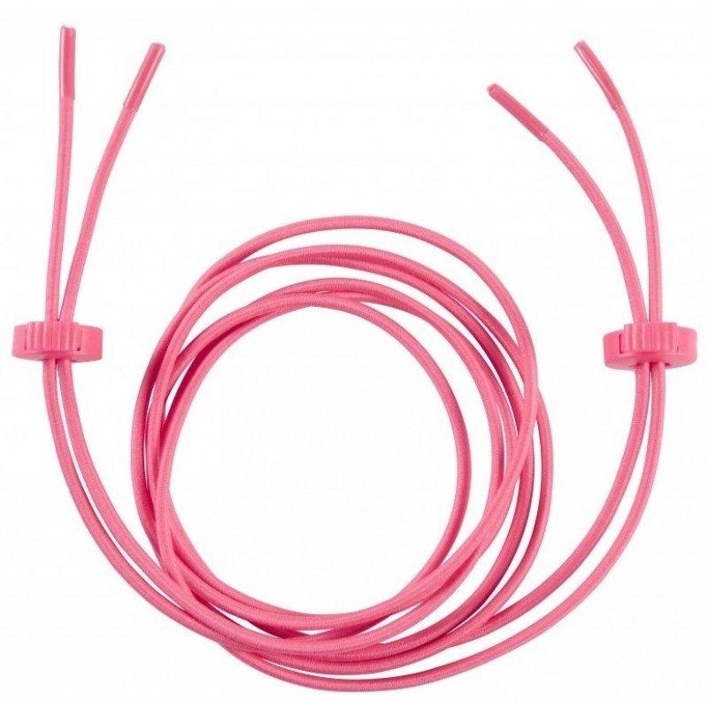 Lacets elastiques Ronhill rose