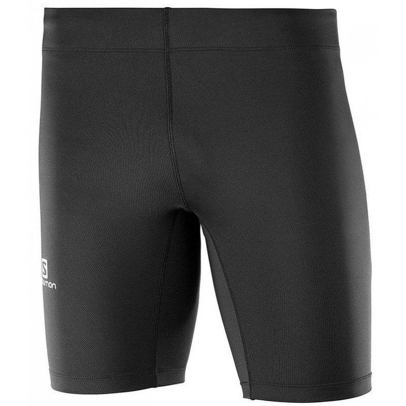 cuissard de running pour hommes salomon agile short tight 402054 black
