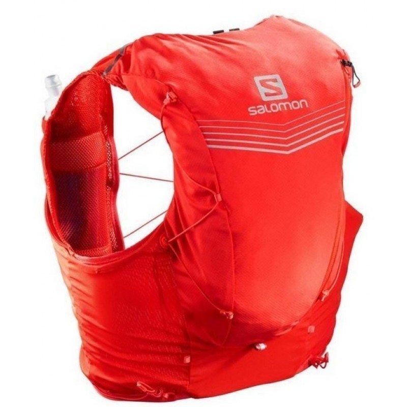sac de trail running salomon adv skin 12 set fiery red lc108760