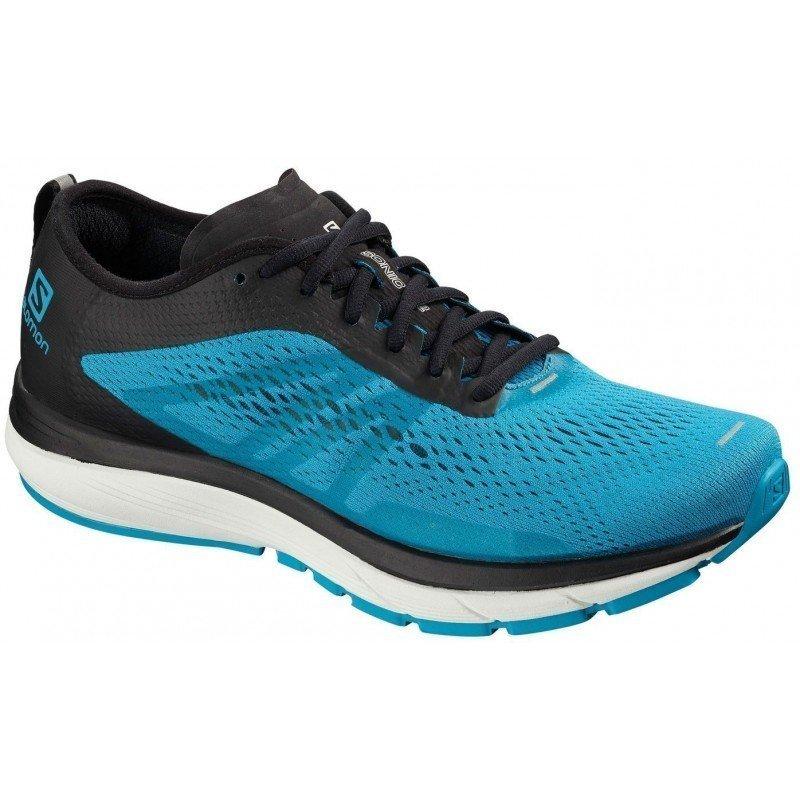 chaussures de running pour hommes salomon sonic ra 406110 hawaiian surf / black / white