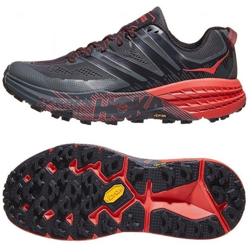 chaussures de trail running pour femmes hoka one one speedgoat 3 1099734dsprd dark shadow