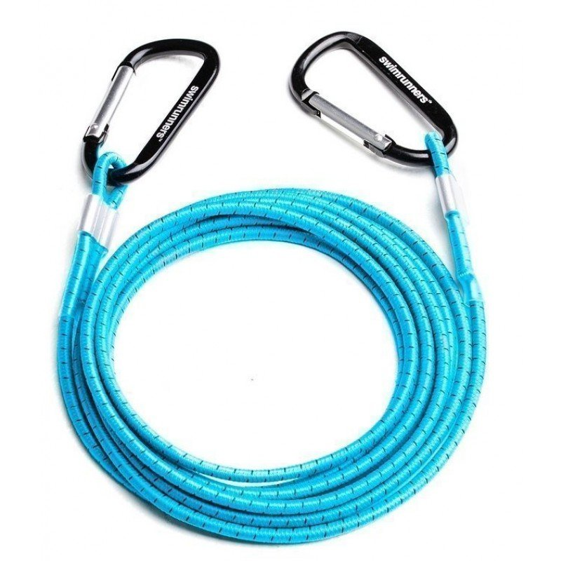 Swimrunners elastic cord support bleue