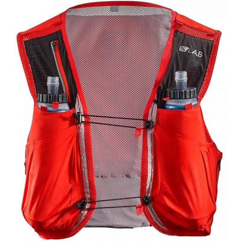 sac de trail running salomon sense ultra 8l rouge 401699