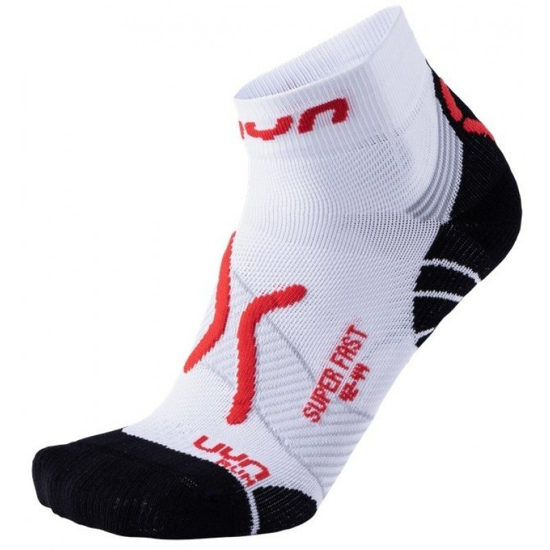 chaussettes de running uyn run super fast WHITE