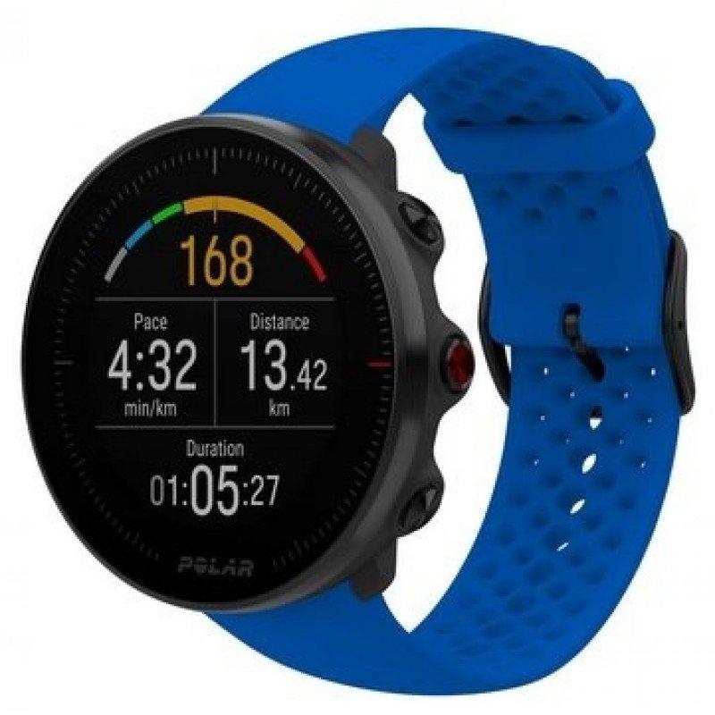 montre cardiofrequencemetre polar vantage m bleue 90080197