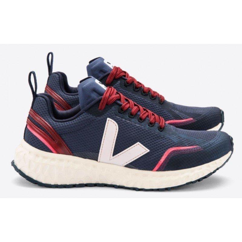 chaussure de running pour femme veja condor alveomesh nautico petale
