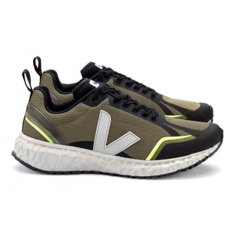 chaussure de running veja condor mesh oxford kaki