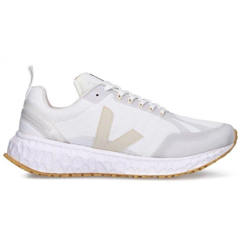 chaussure de running pour femme veja condor alveomesh white