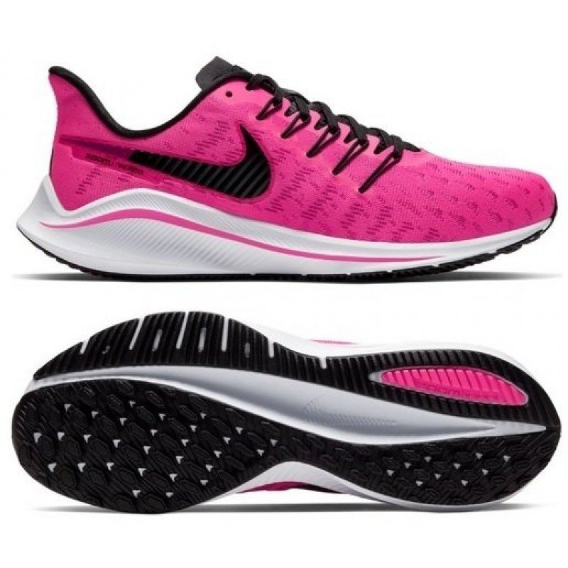chaussure de running pour femme  nike air zoom vomero 14 ah7858-602