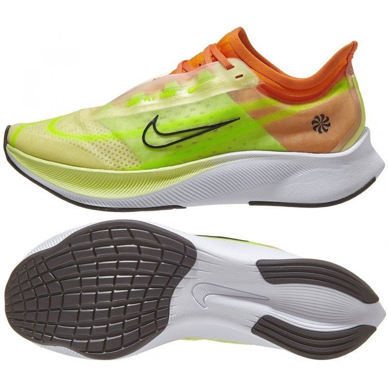 chaussure de running pour femmes nike zoom fly 3 rise cq4483-300