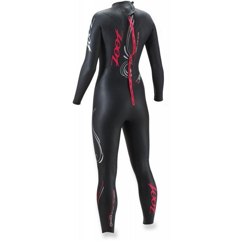 combinaison en neoprene de triathlon pour femme zoot z-force 1 modele 2016