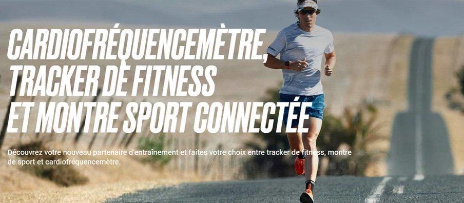 Polar Cardiofrèquencemètre, tracker de fitness, et montre sport connectée