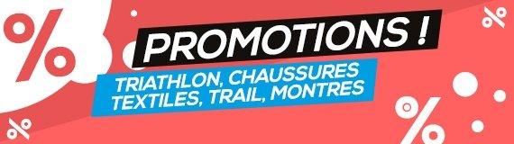 Promotions running, trail, triathlon