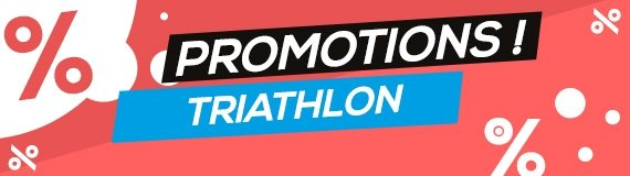 Promotions combinaisons de triathlon