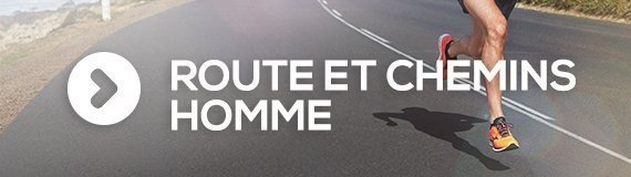 Chaussures running hommes route et chemin