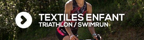 Textiles enfants pour le triathlon