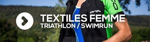 Textiles femmes pour le triathlon